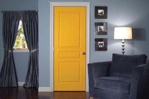 Как выбирают цвет межкомнатной двери в Европе