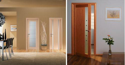 Как сочетать цвет дверей и пола