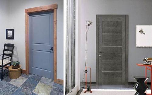 правильный цвет для межкомнатной двери