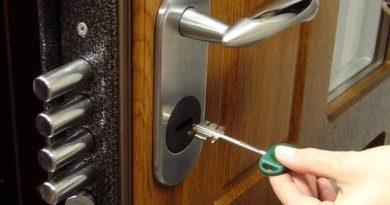 Как установить замок на входной металлической двери своими руками