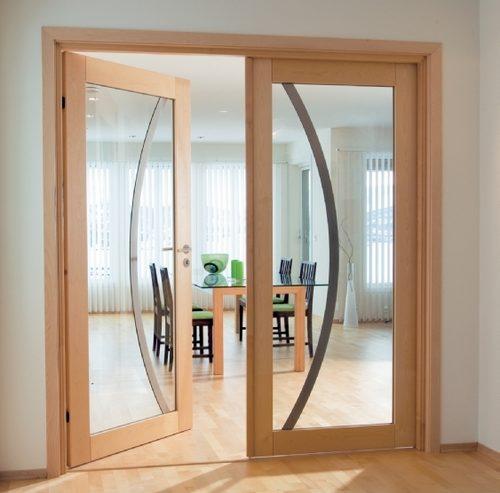 Этапы установки межкомнатной двери