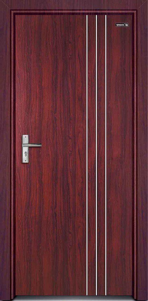 Межкомнатные двери красного цвета