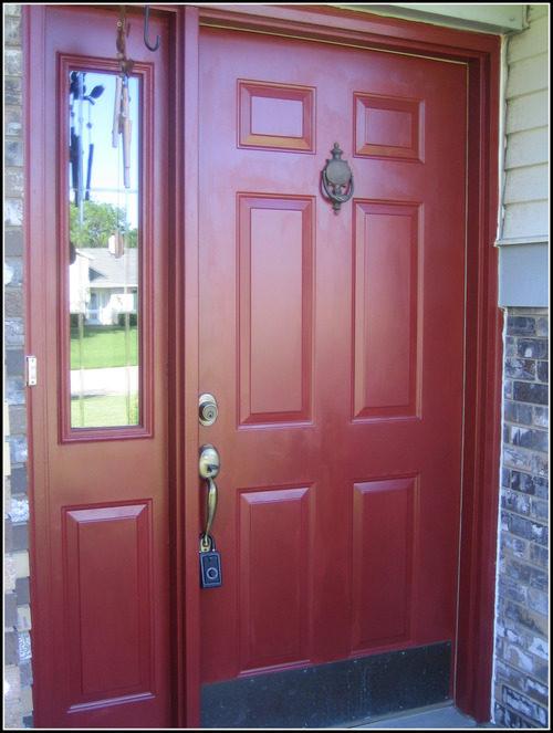 Красные межкомнатные двери