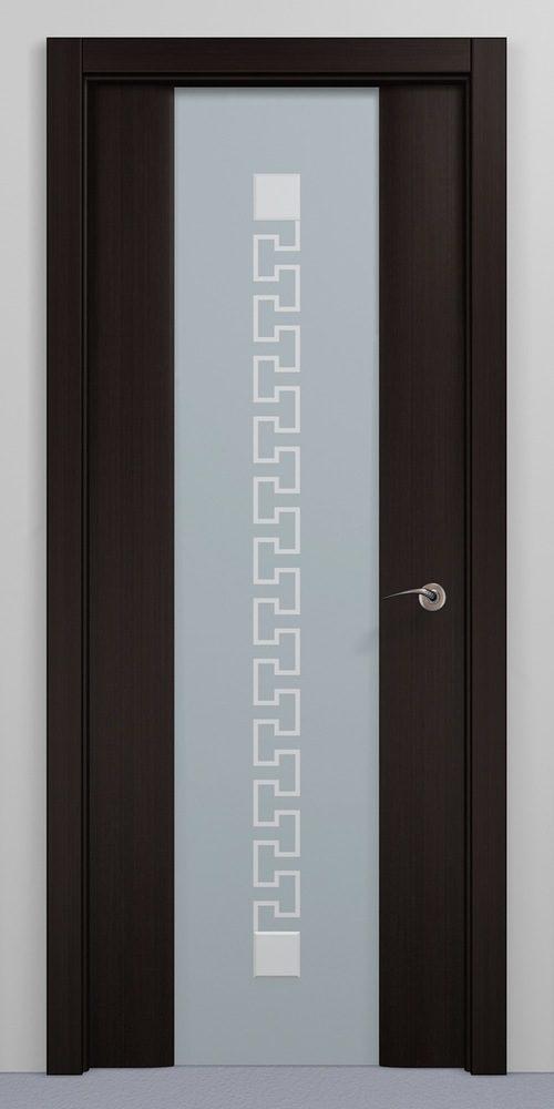 Двери венге со стеклом
