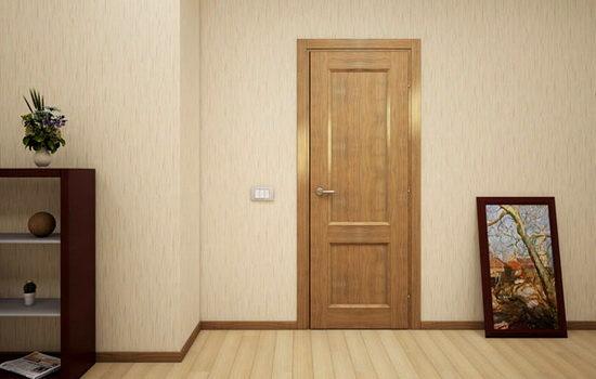 Эконом двери в интерьере