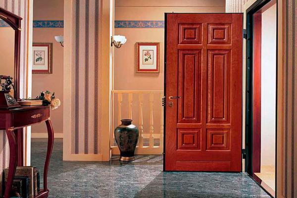 Реставрация входной железной двери