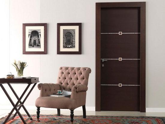 Дизайн межкомнатной двери в стиле модерн