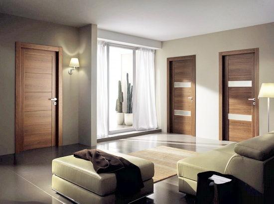 Двери межкомнатные в стиле модерн