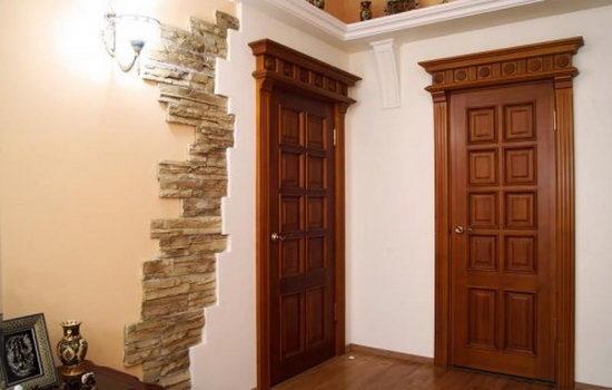 Межкомнатная дверь из массива - стильное решение для дома