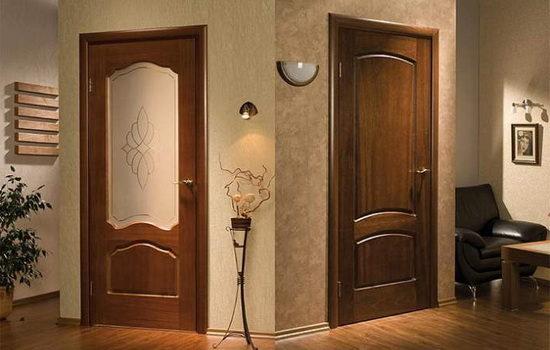 Виды межкомнатных дверей с притвором