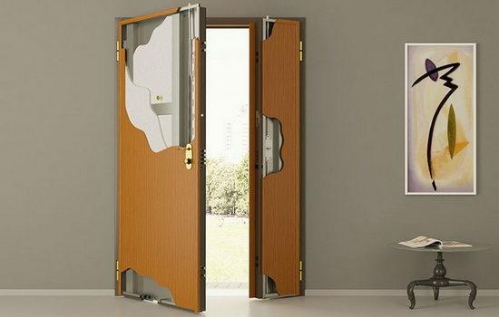Двери противопожарные металлические Ei-30