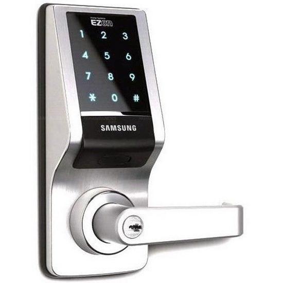 Кнопочные дверные замки с электронным управлением