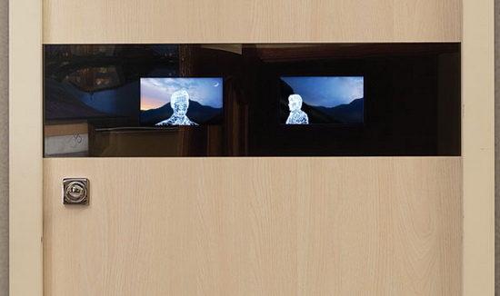 Стальная дверь Leganza Smart со встроенной запатентованной системой видеонаблюдения
