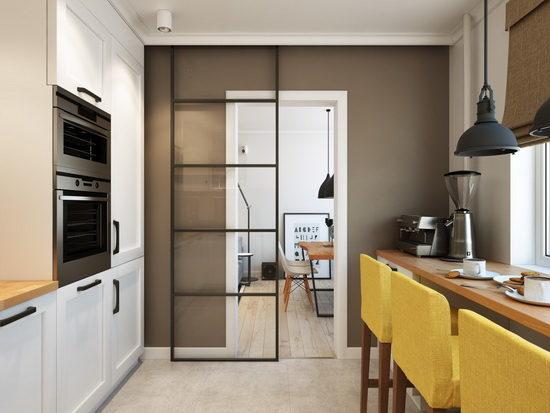 Из какого материала выбрать дверь на кухню