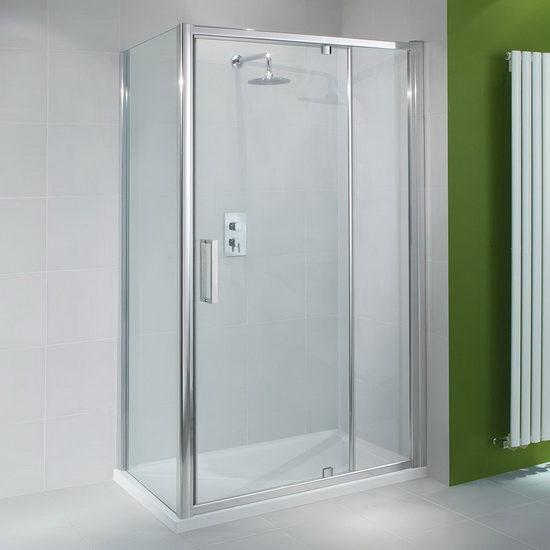 Достоинства и недостатки стеклянных дверей в душевую