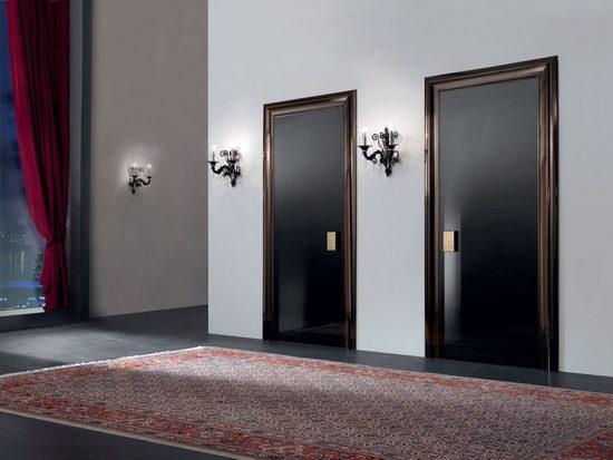 Черная межкомнатная дверь в интерьере советы опытных дизайнеров
