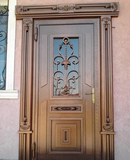 Кованые входные двери