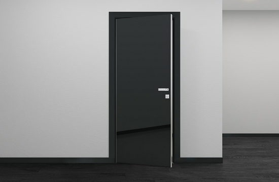 Как выбрать черную дверь для интерьера
