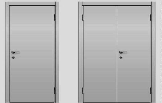 Что лучше однопольная дверь или двупольная
