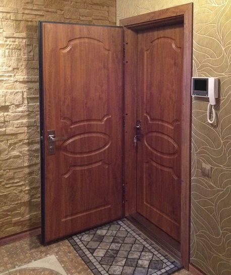 Что учесть при установкедвойной входной двери