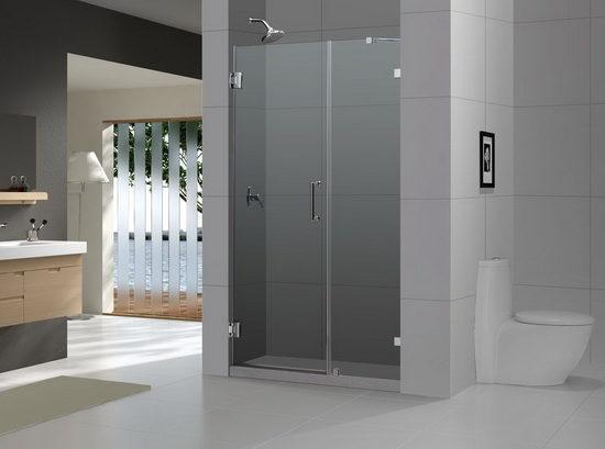 Какую дверь для душевой выбрать