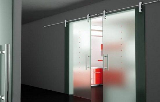 Недостатки откатных дверей