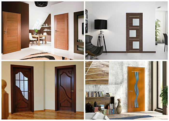 Двери из МДФ  в интерьере квартиры