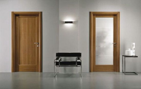 устройство ламинированных дверей на примере межкомнатных