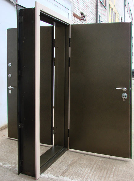 особенность устройства двойной входной двери