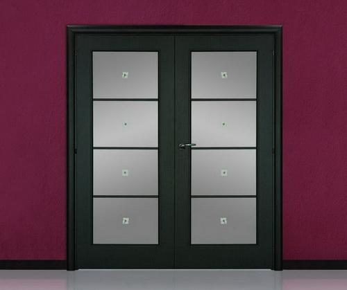 двустворчатые распашные межкомнатные двери