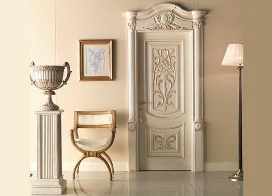 Эксклюзивные межкомнатные двери из соснового массива