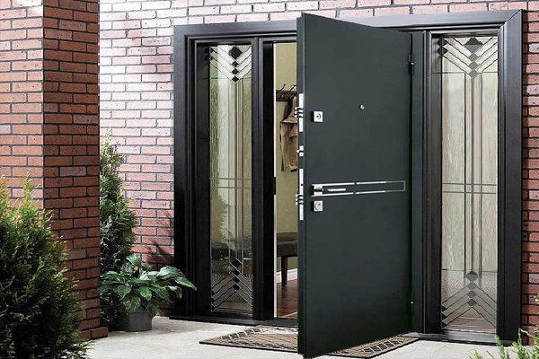Направление открывания дверей.