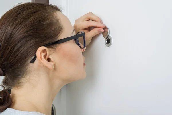 Какие существуют разновидности дверных глазков?