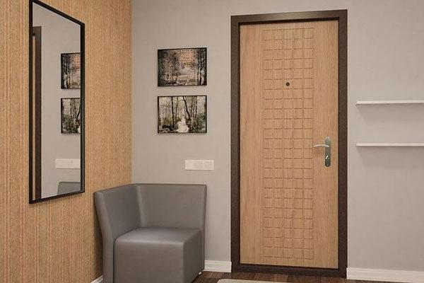 Внешний вид и выбор дизайна входной металлической двери.