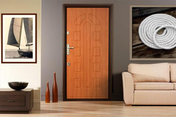 Как выбрать входную железную дверь