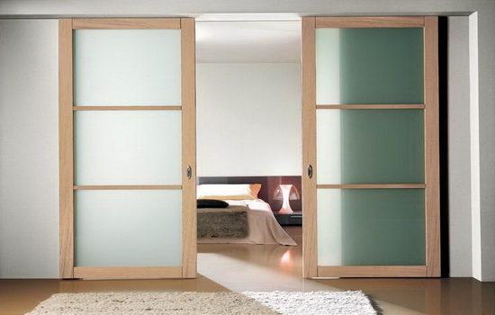 Раздвижные межкомнатные двери-купе