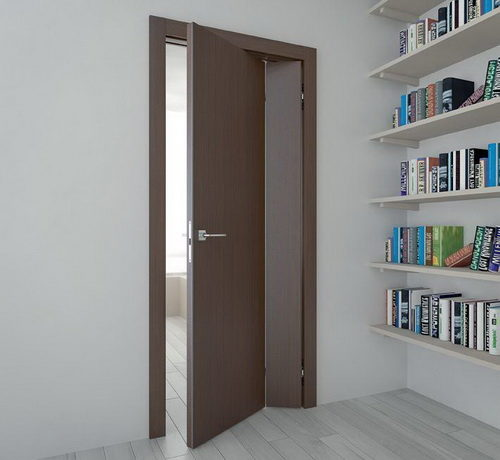 Межкомнатная дверь складного типа