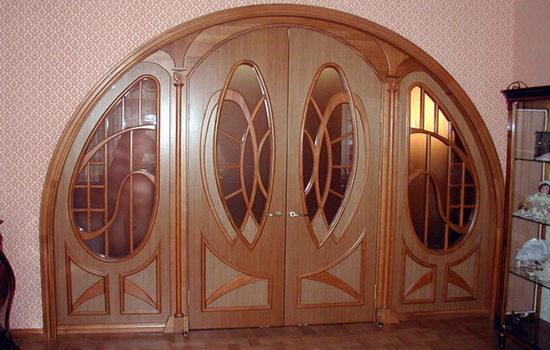 Какие виды арочных дверей бывают