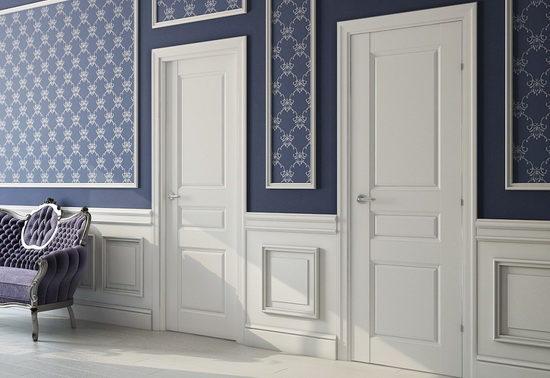 Межкомнатные двери с ПВХ напылением