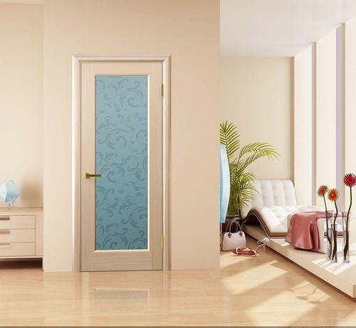 Межкомнатные двери цвета беленый дуб