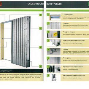 Особенности конструкции кассет для раздвижных дверей