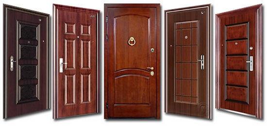 Популярные модели вторых входных дверей
