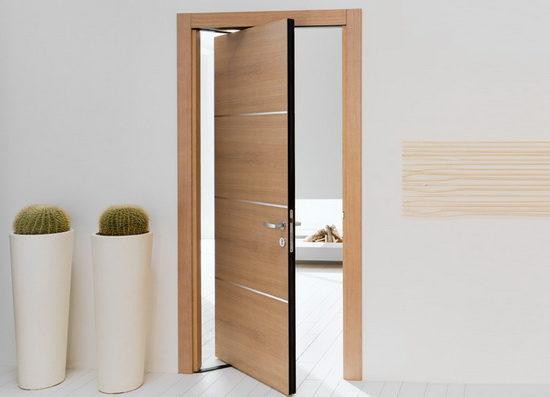 Рото-дверь в интерьере