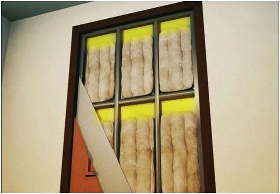 Как правильно производить звукоизоляцию межкомнатных дверей