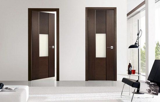 Стандартные распашные межкомнатные двери