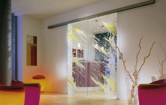 Отличия прозрачных межкомнатных дверей по способу открытия