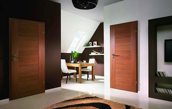 Параметры выбора дверей в помещения квартиры