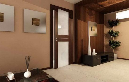 Как сочетать цвет двери с цветовой гаммой интерьера