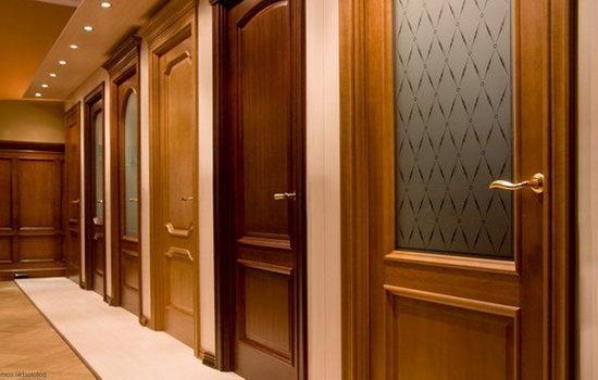Устройство ламинированных дверей