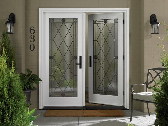 дизайн входных дверей из ПВХ фото